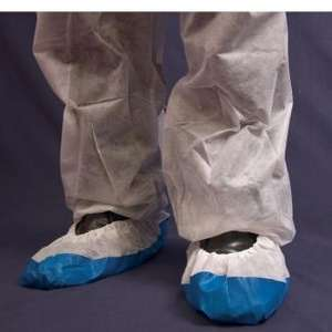 Contain-ER White disposable overshoes - packs of 40 (SKU - PWOVER40)