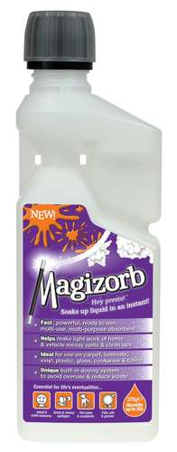 Magizorb absorbent granules 375g bottle