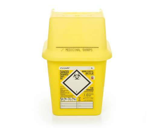 Contain-ER 4L sharps disposal bins - box of 50 41005430