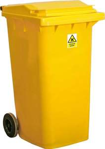 Contain-ER 240L clinical waste disposal bin