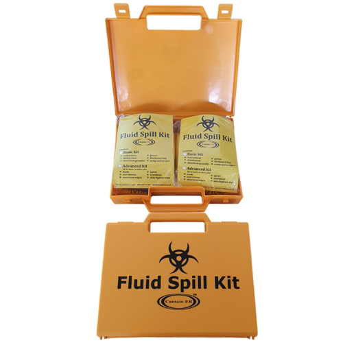 Contain-ER 2 application advanced body fluid spill kit