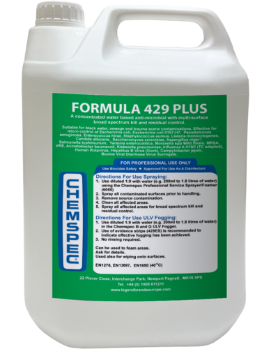 Contain-ER Formula 429 plus disinfectant