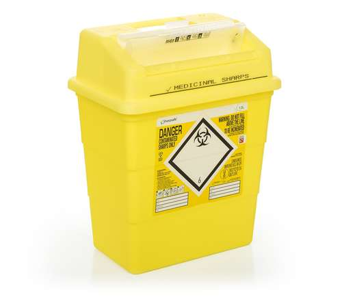 Contain-ER 13L sharps disposal bins with protected access - box of 20 41151430