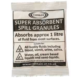 Solidifi-ER™ absorbent spill granules by Contain-ER™