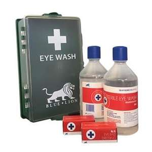 Contain-ER Double Eye Wash Station in box (SKU - AR6105)