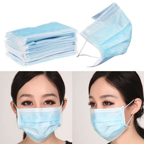 Contain-ER Surgical face masks with ear loops - box of 50 (SKU - P5URG)