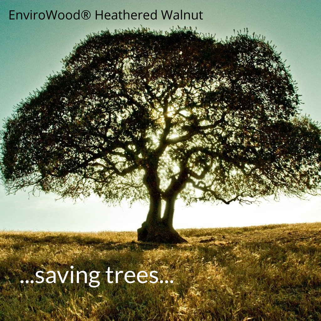 EnviroWood Heathered Walnut Tree