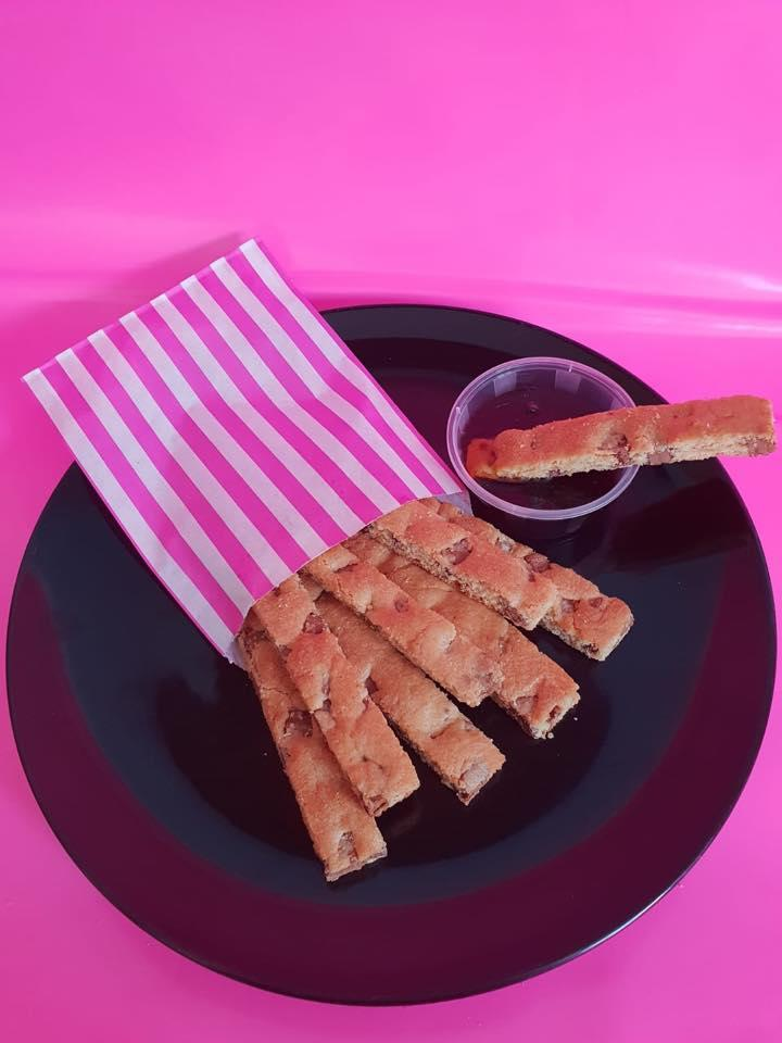 Cookie Sticks and dip