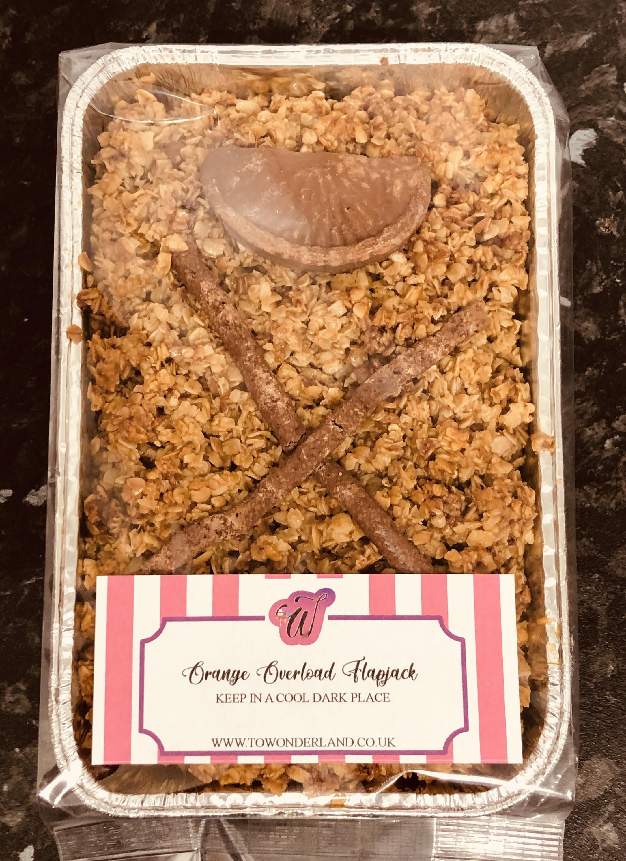 Terrys Chocolate Orange Flapjack Tray