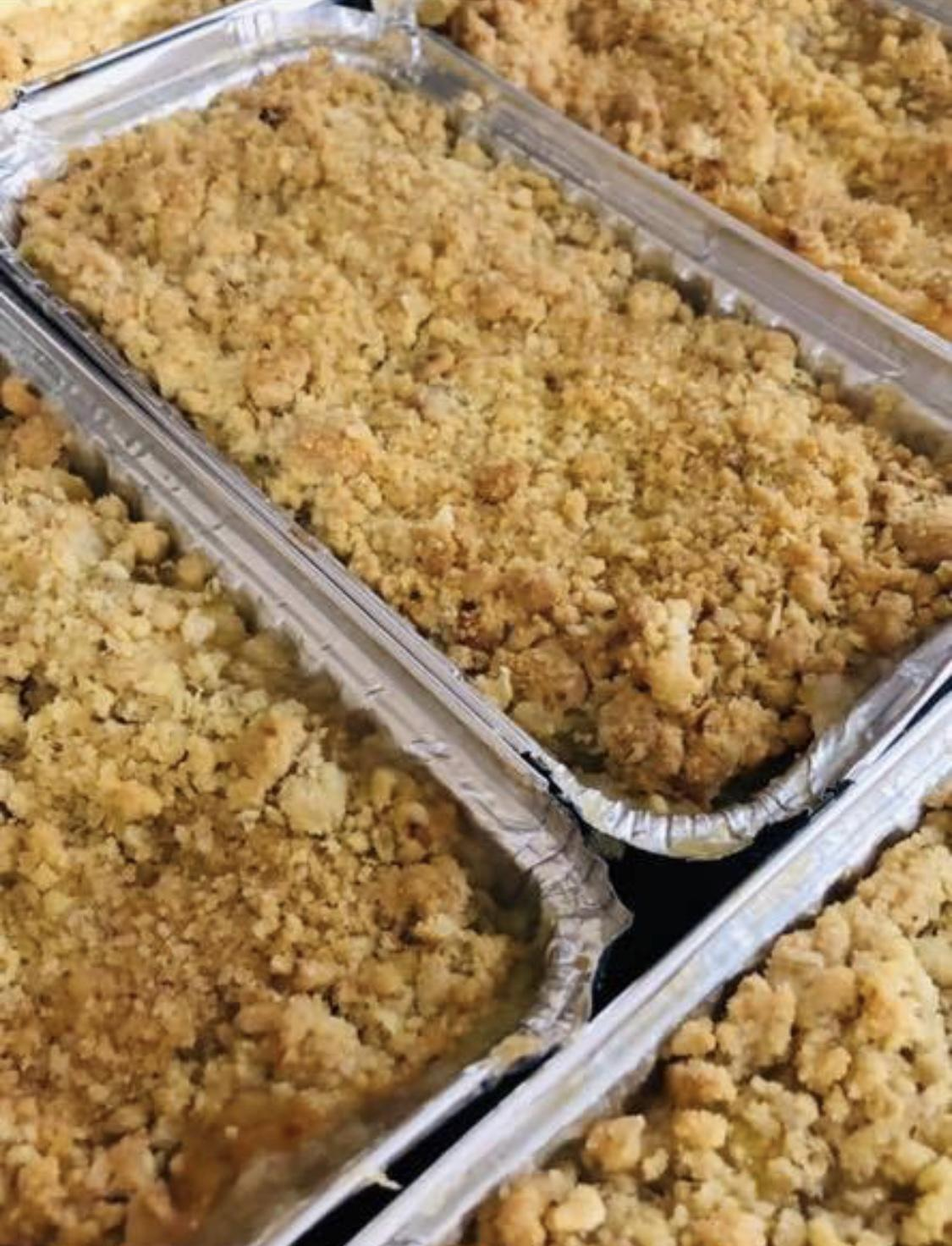 Apple Pie Flapjack Tray