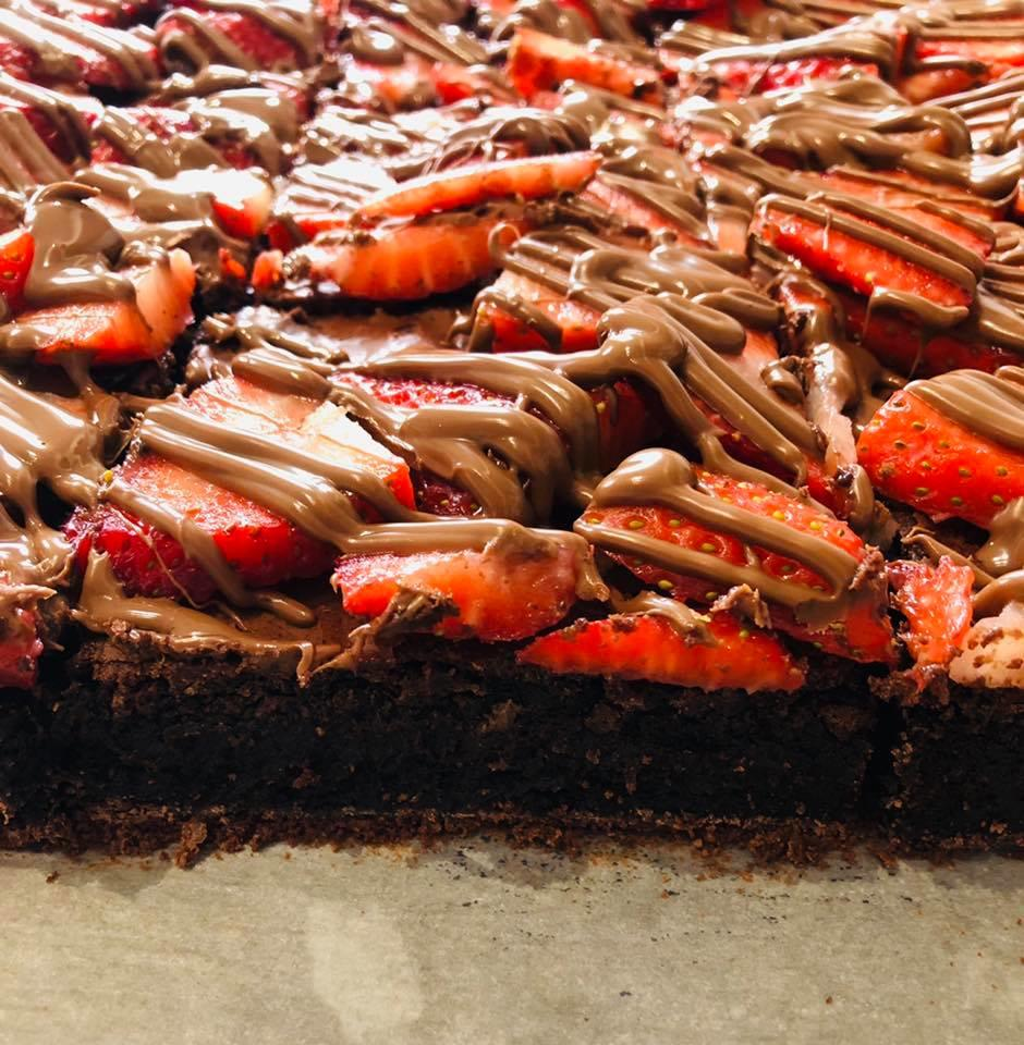 Strawberry Brownie