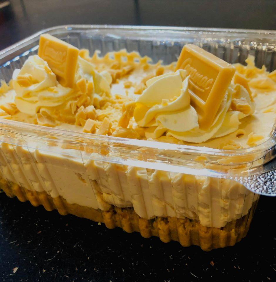 Custard Cream Cheesecake