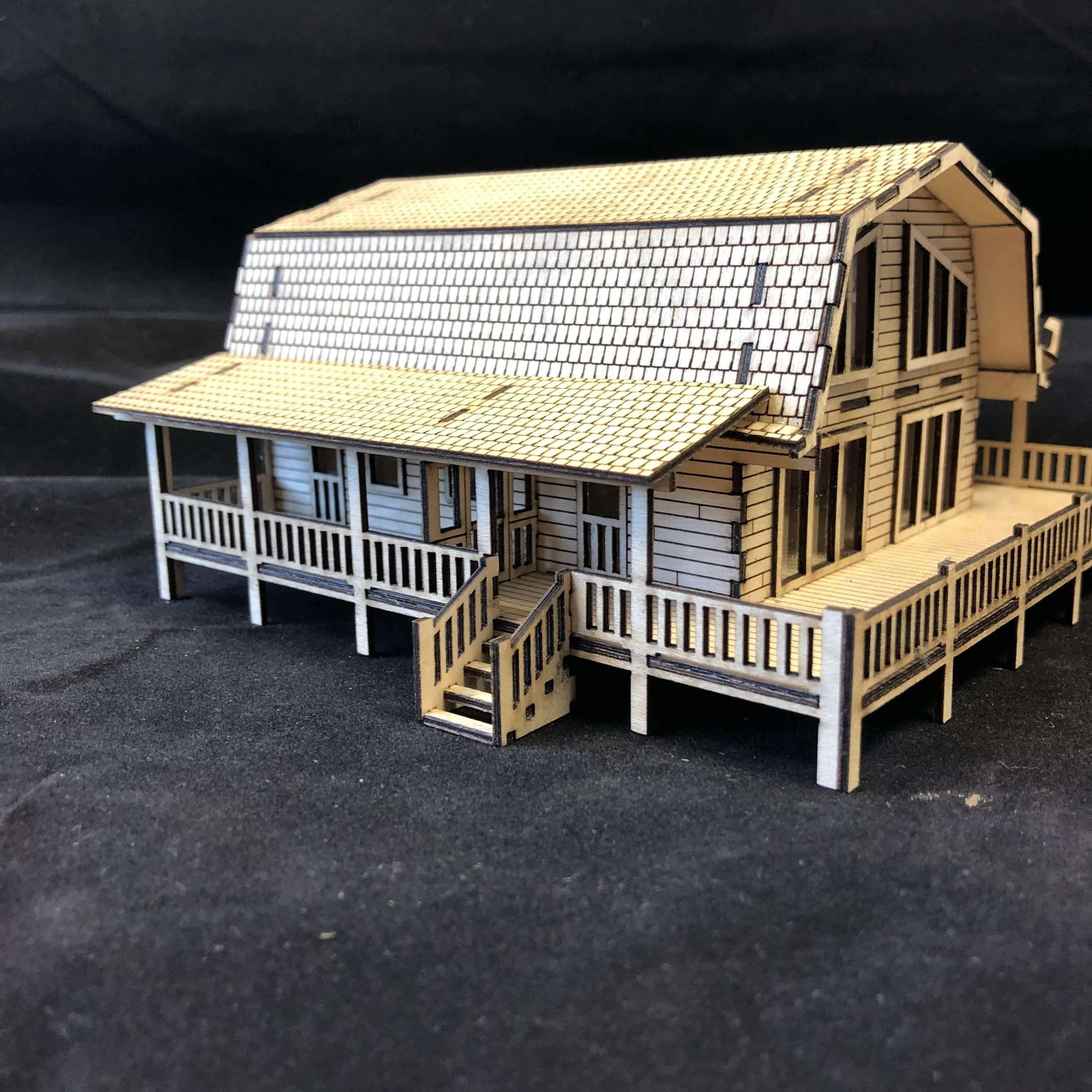 Red Berry Crafts Ltd:Deluxe Cabin HO/OO Scale