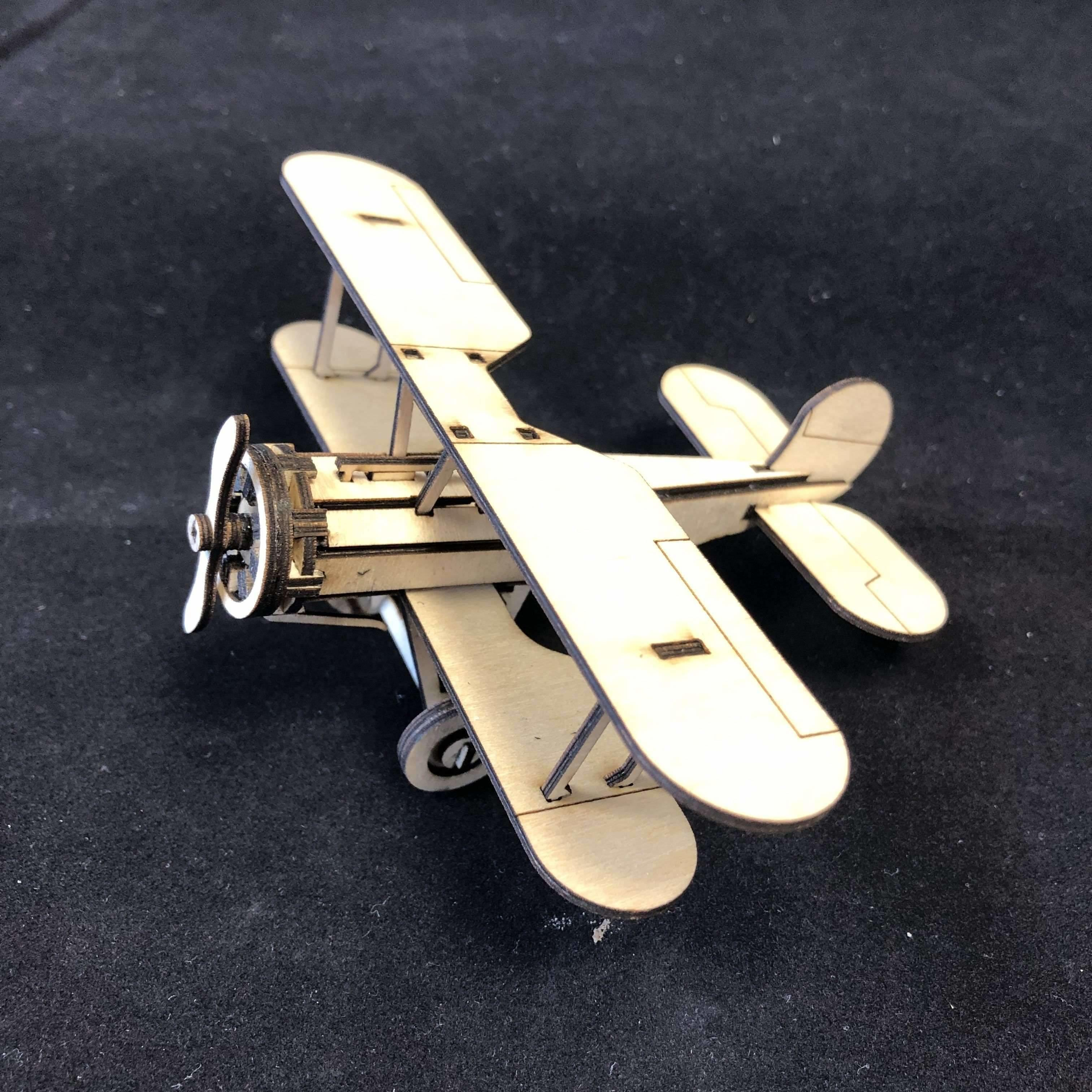 Red Berry Crafts Ltd:Bristol Bulldog F2B 3D Model Kit