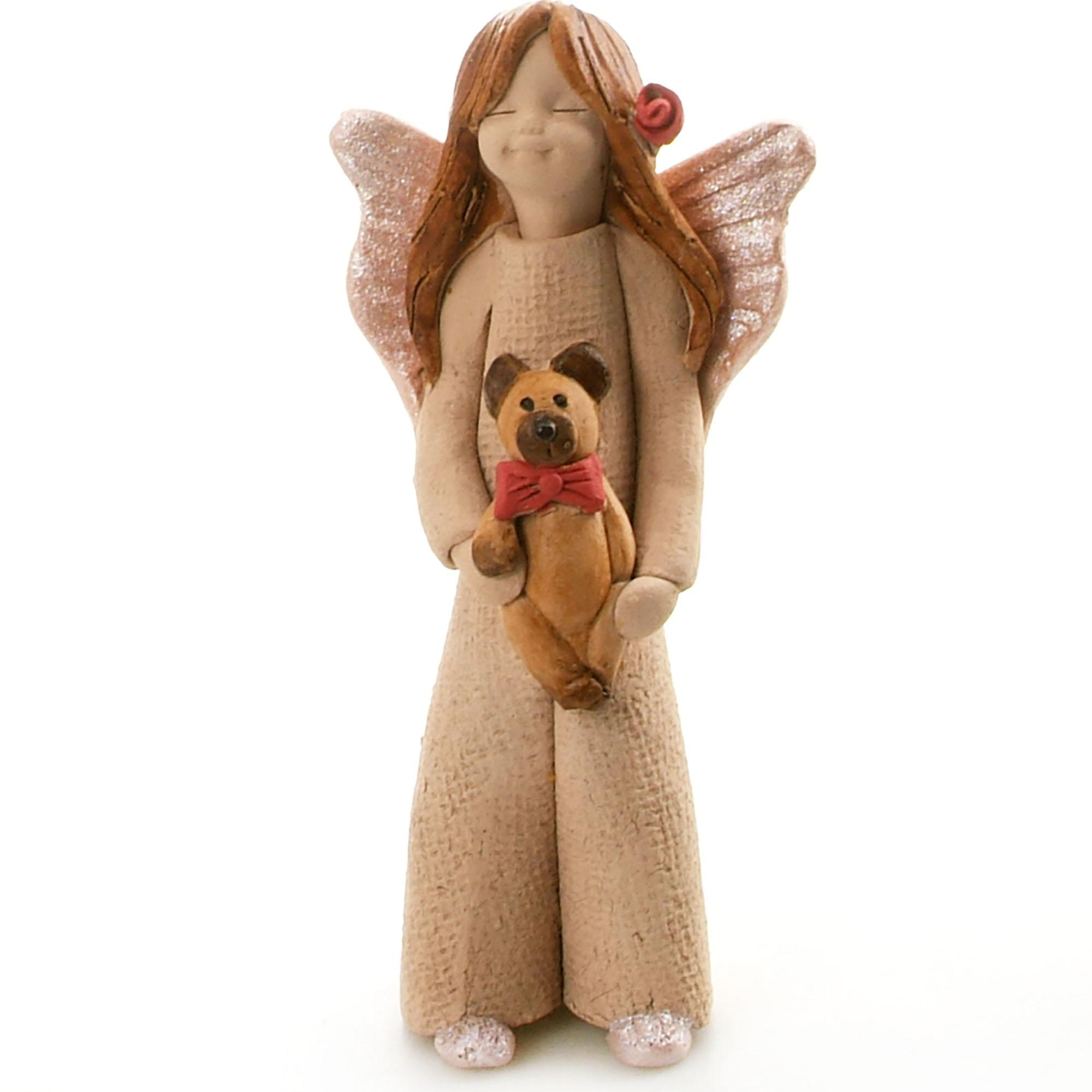 Guardian Angel Figurine with a Sentiment Card