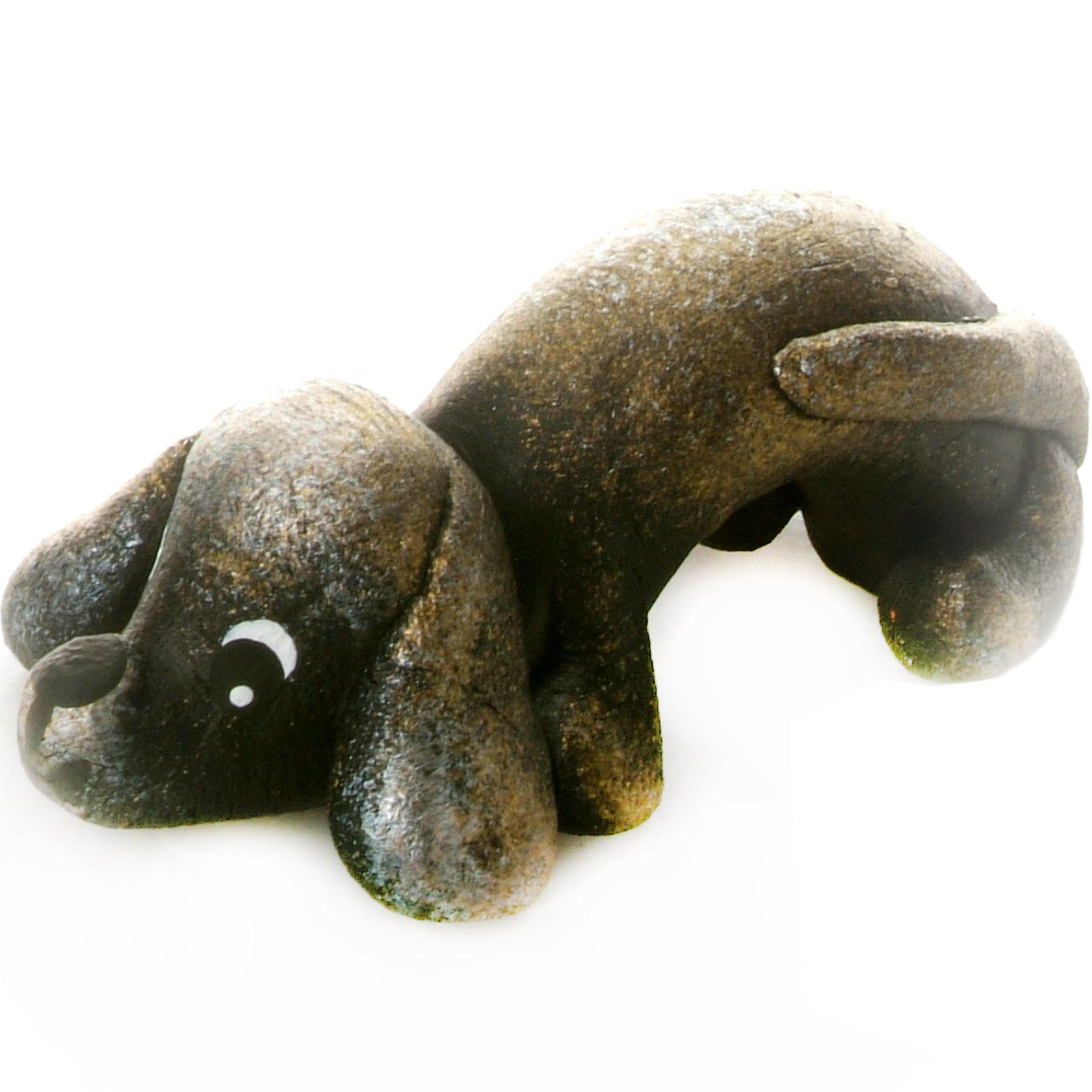 Pet in a Box | Ceramic Animal Gift for Kids | Pewter Dachshound