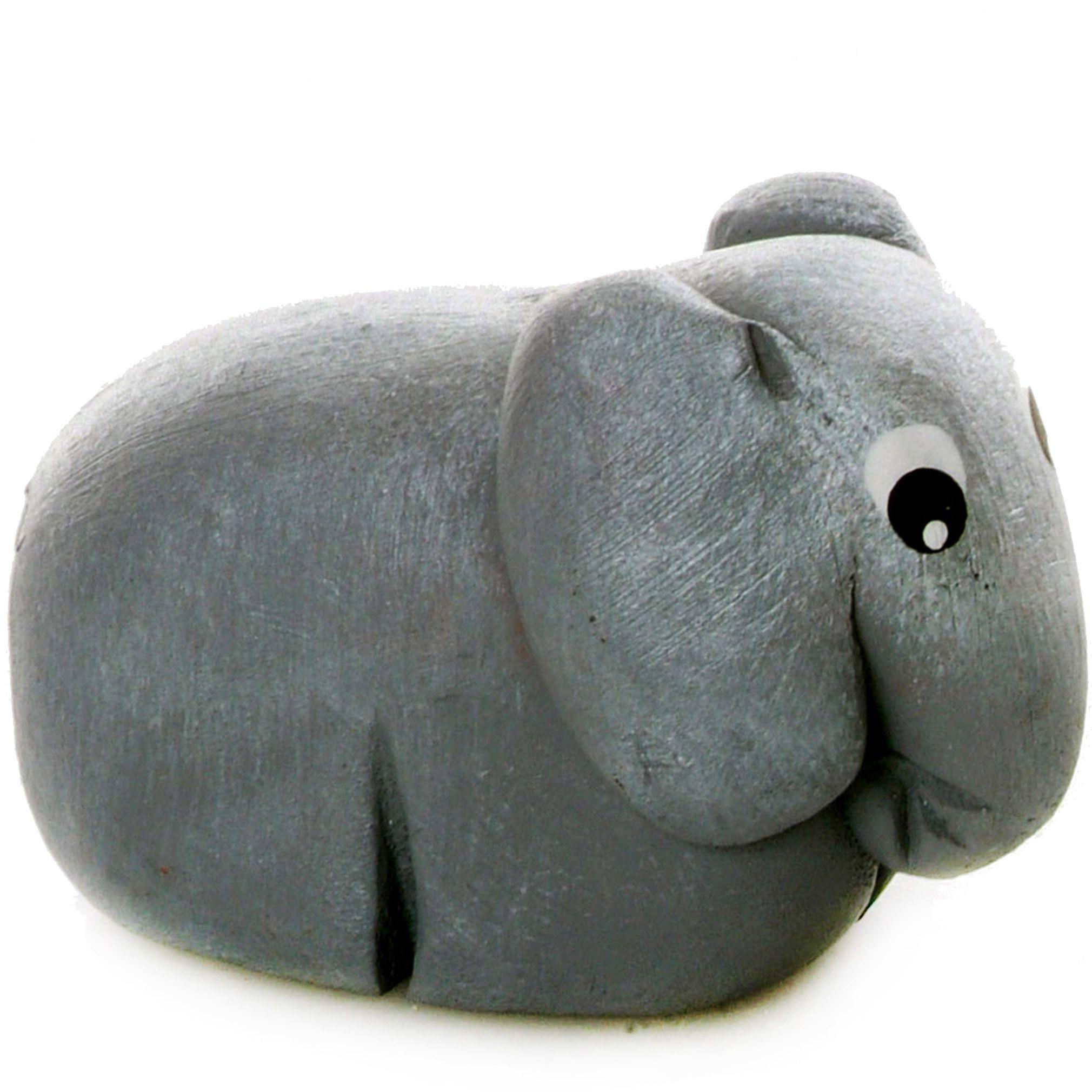 Pet in a Box | Ceramic Animal Gift for Kids | Elephant