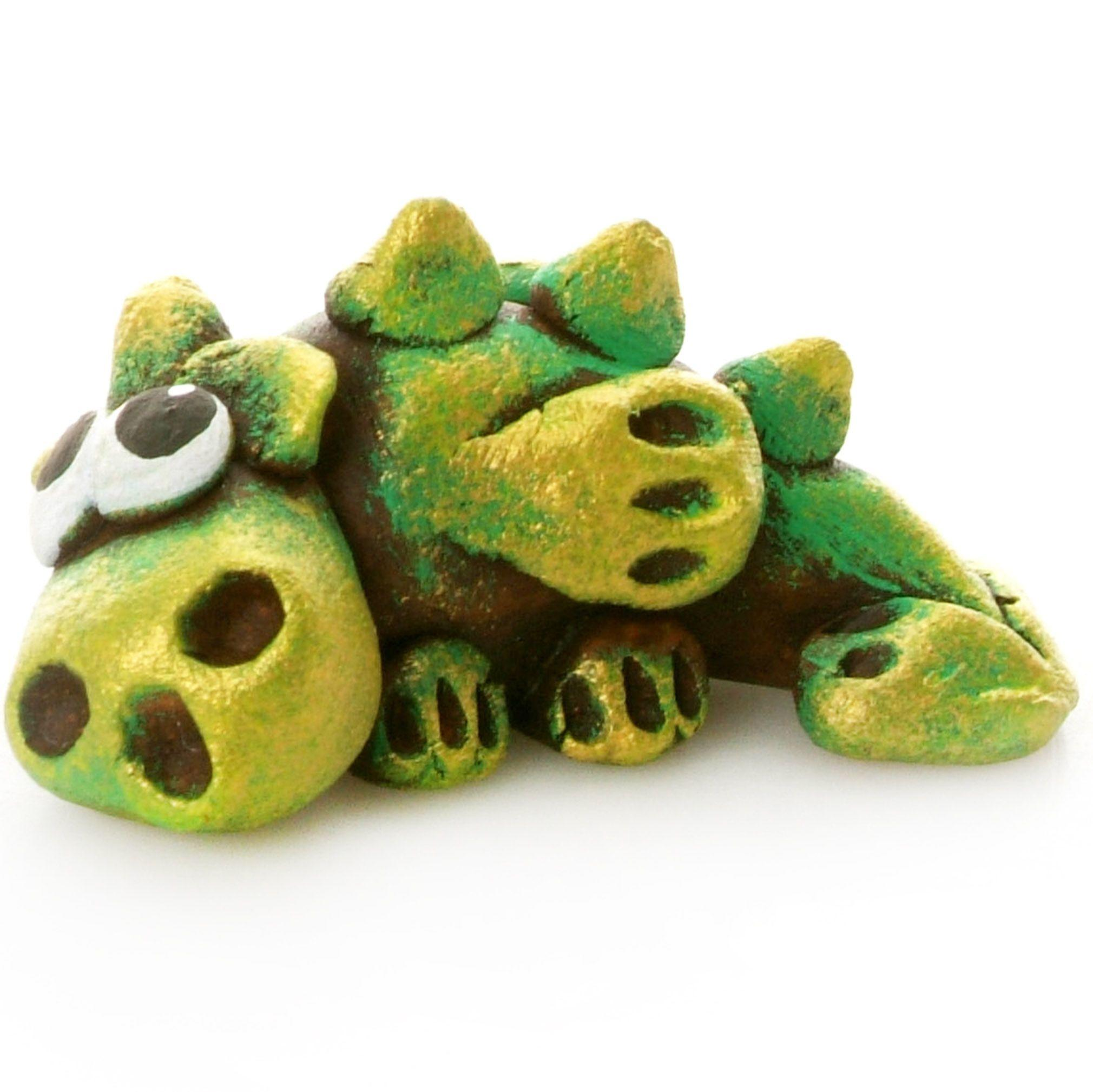 Pet in a Box | Ceramic Animal Gift for Kids | Green Dragon