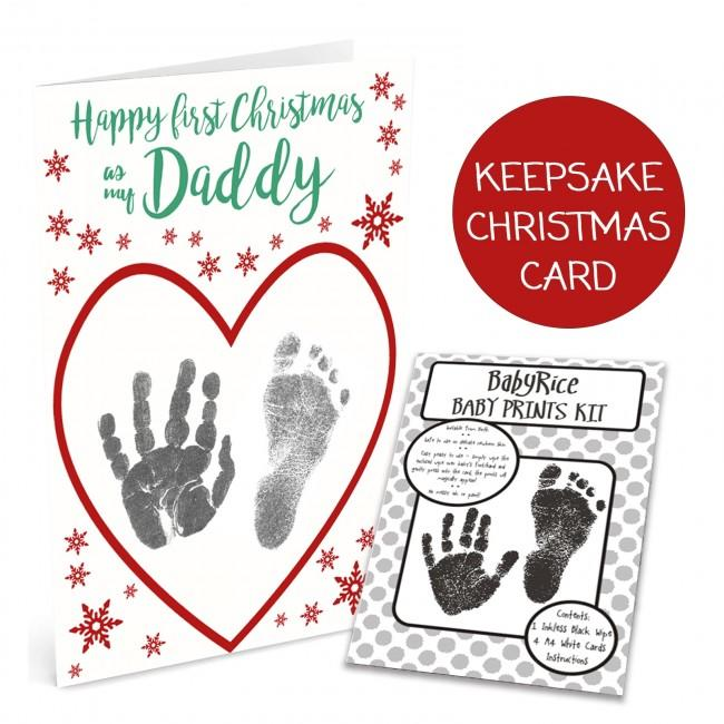 Christmas Card Making Kit with Inkless Wipes