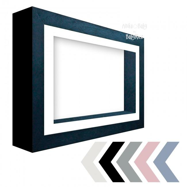 "12x9"" Black Deluxe Deep Box Display Frame -  Choose Options"