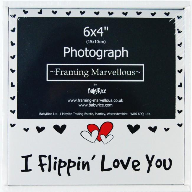 I Love You Photo Frame Packaging