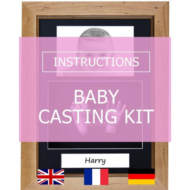 BabyRice Baby Casting Kit Instructions