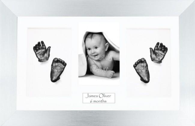 Unique New Baby Christening Gift, DIY 3D Hands & Foot Pewter Casting