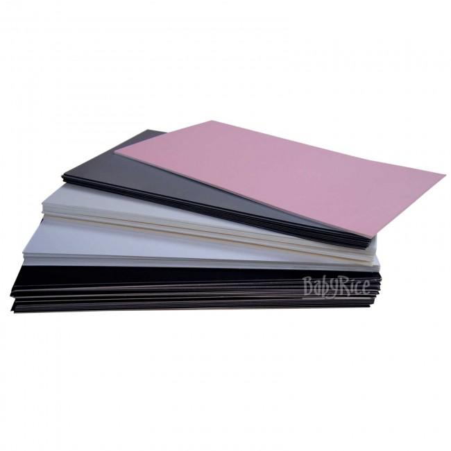 Selection of mount board offcuts