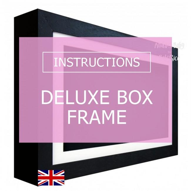 Deluxe Box Frame Instructions