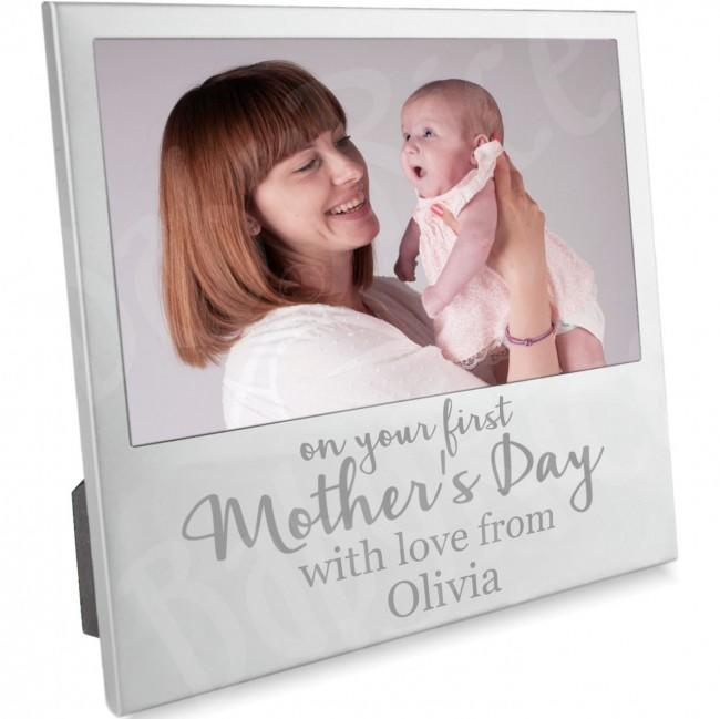 First Mothers Day Frame 1st Mother's Gift Present Keepsake