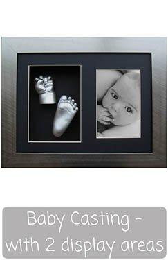 Baby Casting Kit with Frame - Photo and Cast Display