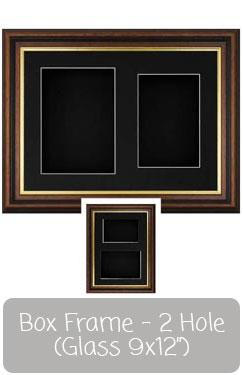 Shadow Box Frame 9x12 Photo Display