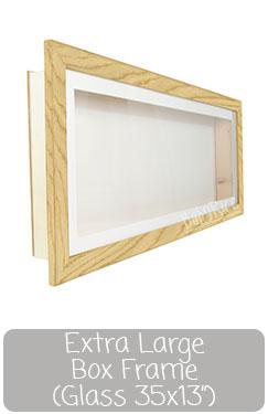 Extra Large Box Display Frame