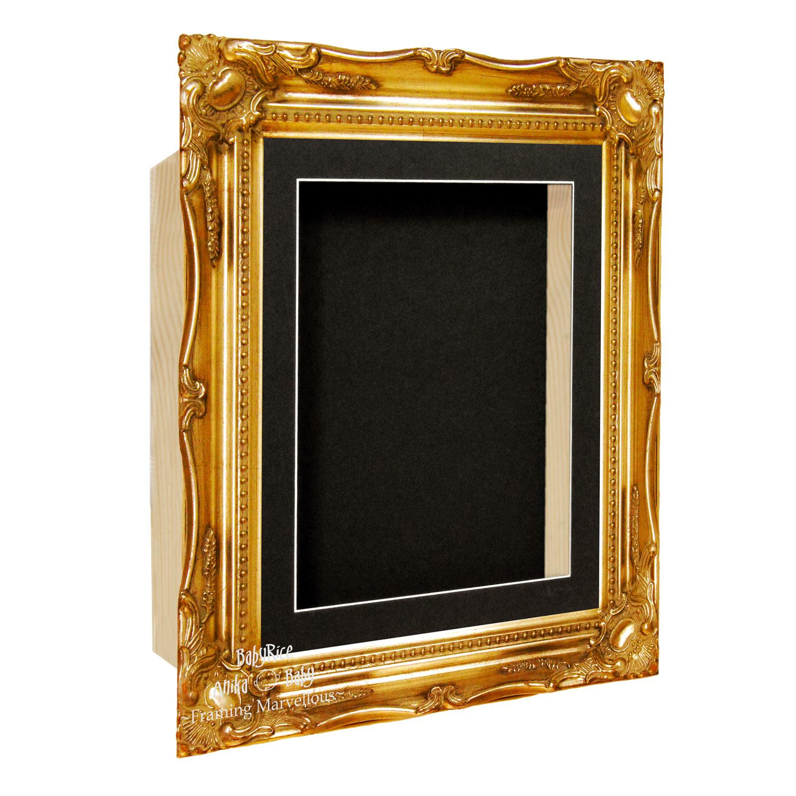 Gold Ornate Italianate Box Display Frame