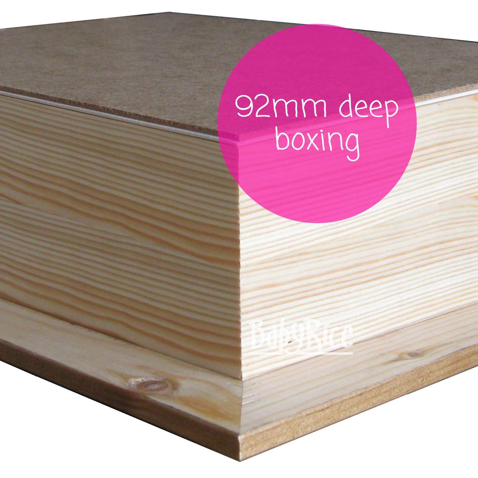 Example of rear pine box 92mm