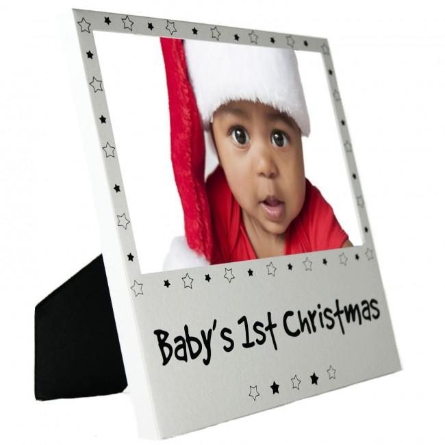 Babys 1st Xmas Photo Picture Frame