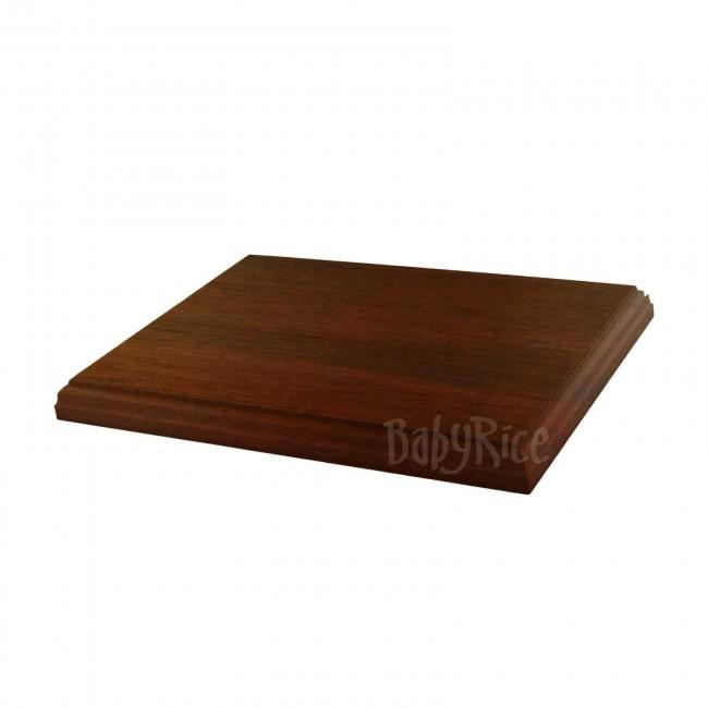 Mahogany Display Plinth 8x6""