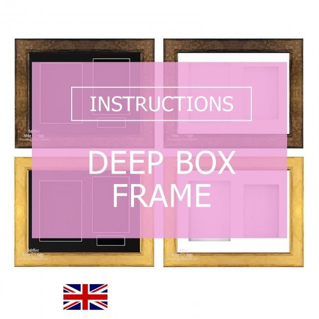 BabyRice Box Frame Instructions