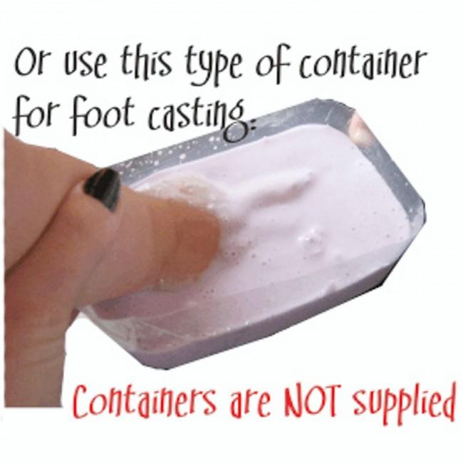 Leave Plaster Cast in Alginate to Set