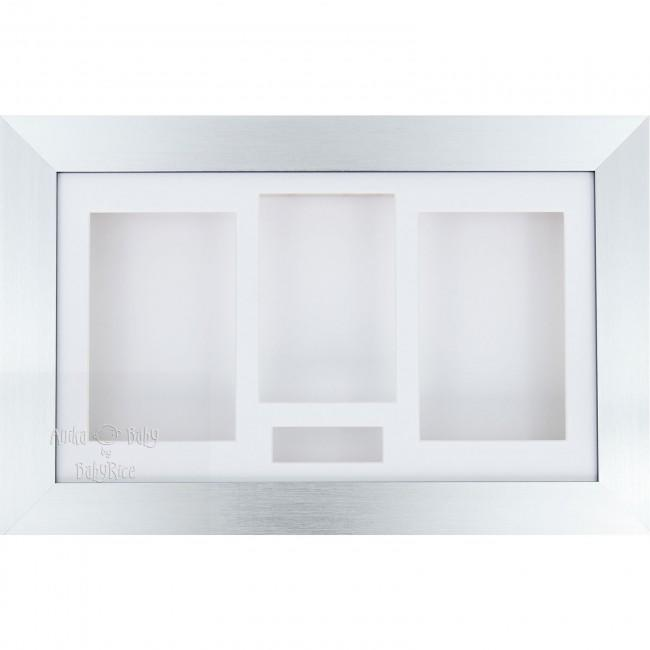 Silver 3D Shadow Box Display Frame