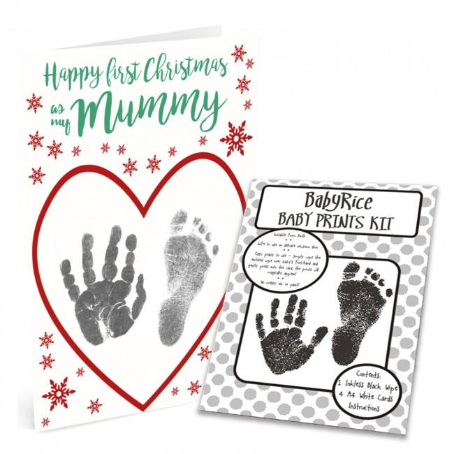 Christmas Card Marking Kit with Inkless Wipes