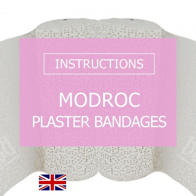 BabyRice downloadable instructions for ModRoc Plaster Bandages