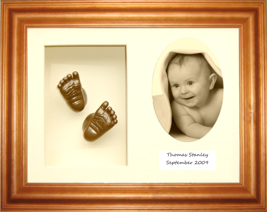 Baby Casting Kit / Honey Pine Frame / Cream 3-O / Bronze