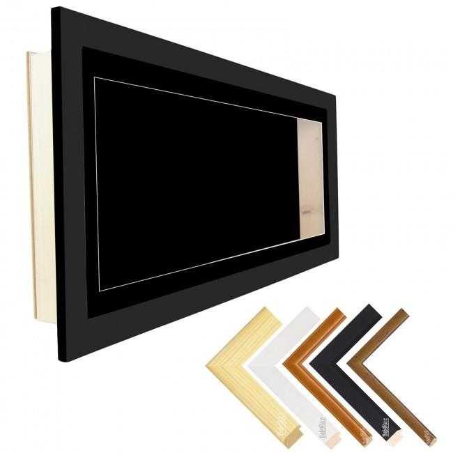 "35x13"" Deep Box Display Frame – Budget Wooden Frames – Includes Mount"