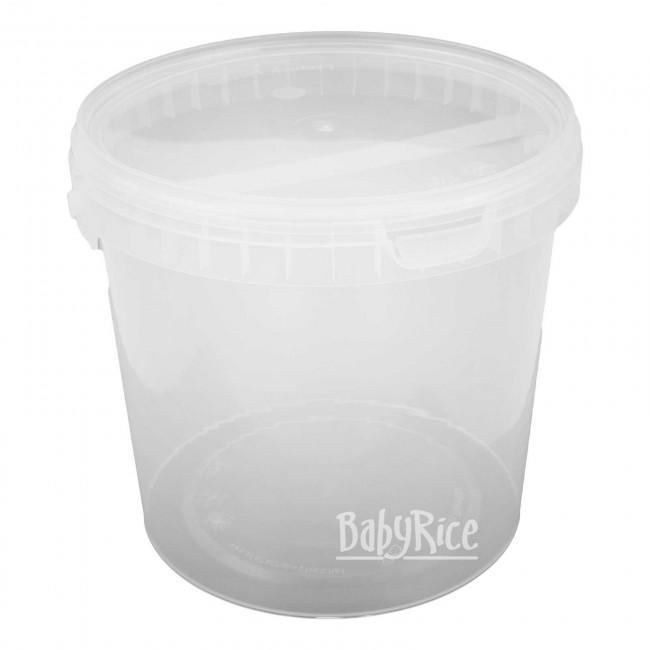 5L plastic casting container with lid