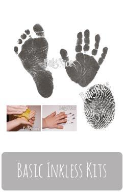 Baby Inkless Hand & Footprint Kits