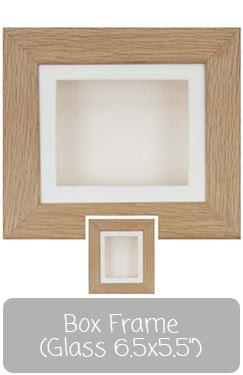 "Box Frames 6.5x5.5"" Glass"