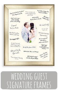 Wedding Guest Signature Frames