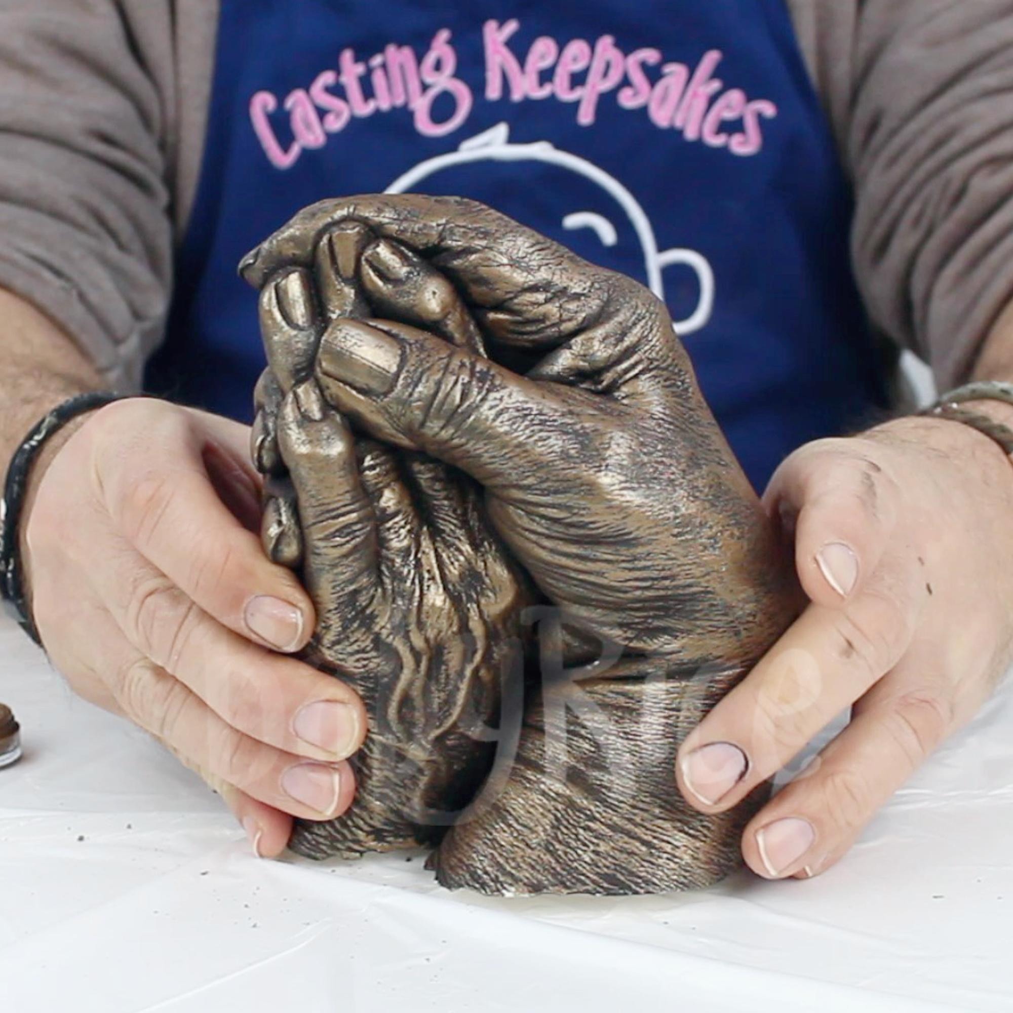 Bronze Hand cast when finished