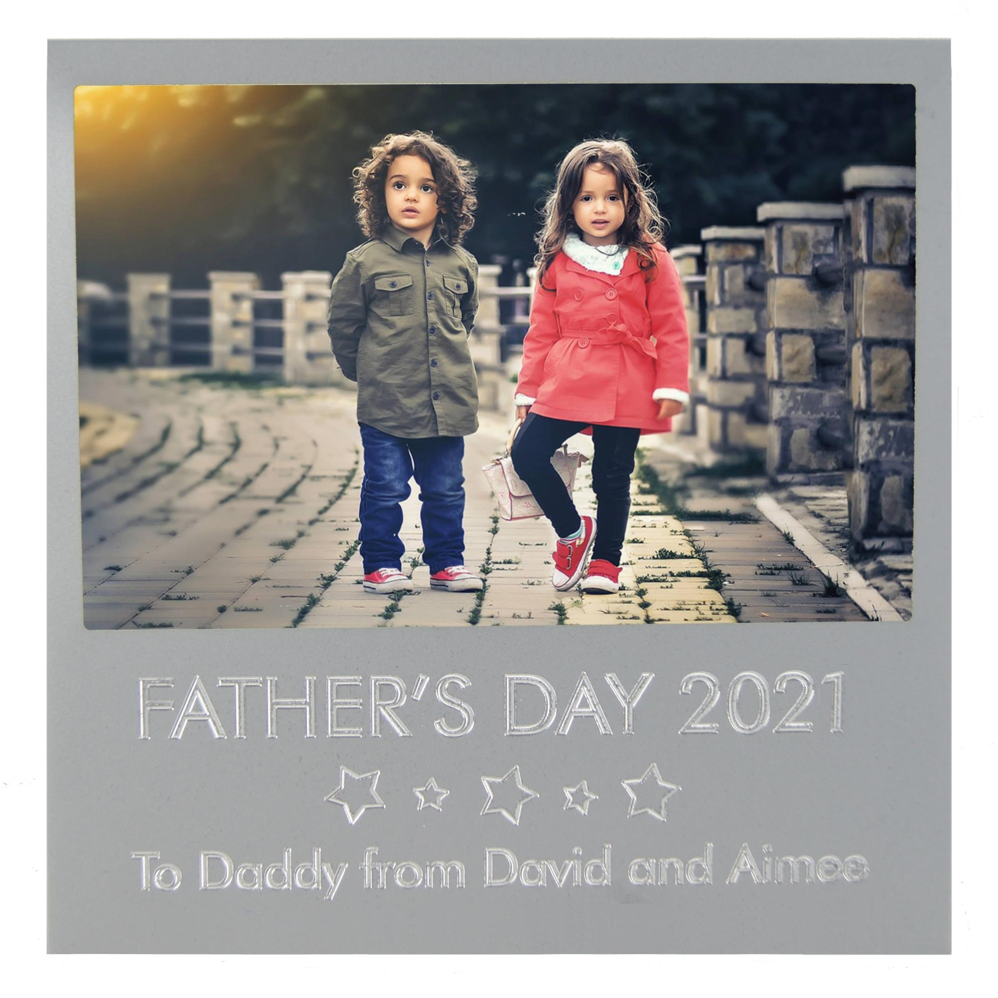 Personalised Father's Day Picture Photo Frame